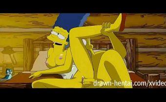 Hentai Marge Simpson fodendo com o Homer